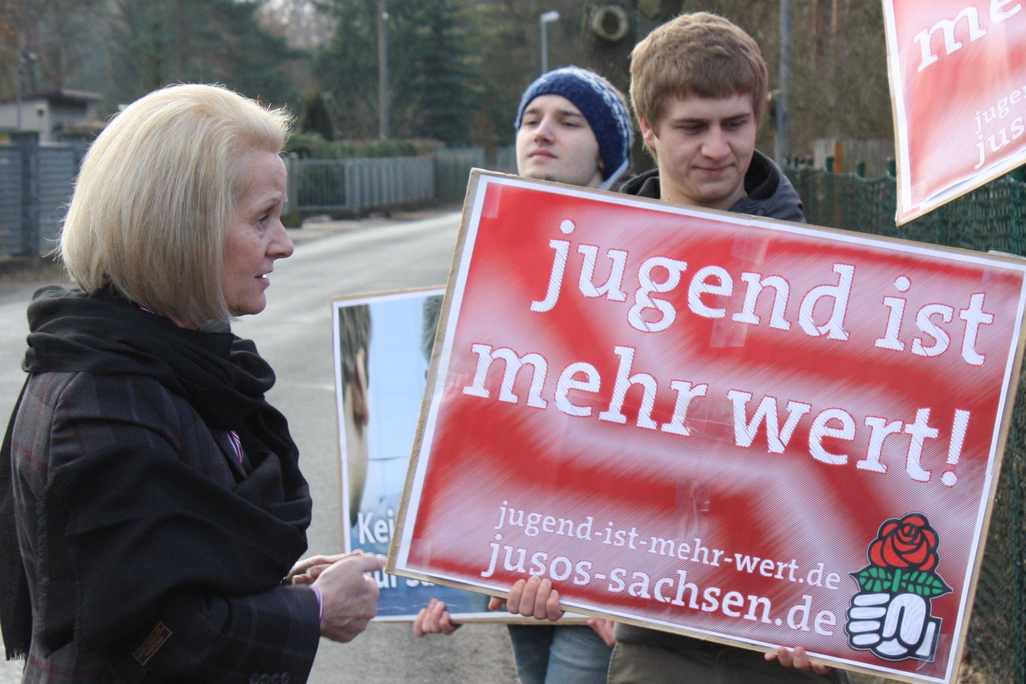 Protest Jugend ist mehr wert